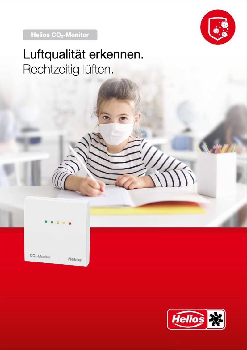 Helios CO2 Monitore Broschüre