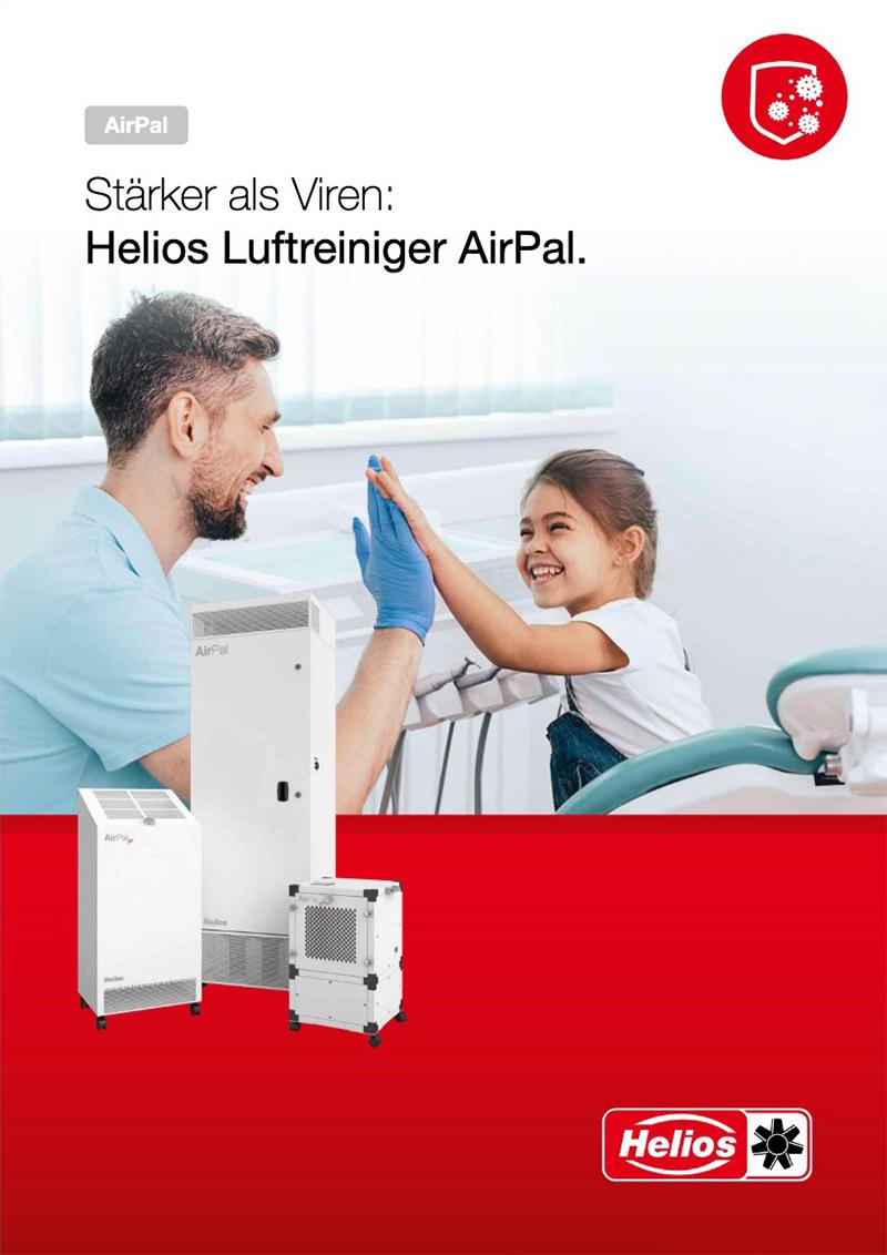 Helios AirPal Luftreiniger Broschüre